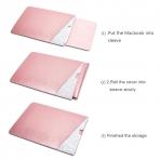 WALNEW Macbook Air Sleeve Çanta (13 inç)-Rose Gold