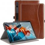 Ztotop Galaxy Tab S7 Deri Stand Kılıf (11 inç)