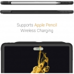 Zugu Case iPad Pro The Alpha Kılıf (12.9 inch)(2020)(4. Nesil)-Black