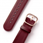 amBand Apple Watch Deri Kayış (38/40mm)-Wine Red