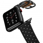 amBand Apple Watch Deri Kayış (38/40mm)-Mini Polka Dots