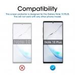 amFilm Galaxy Note 10 Plus Temperli Cam Ekran Koruyucu