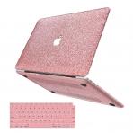 anban MacBook Air Simli Koruyucu Kılıf (Retina 13.3 inç)-Pink