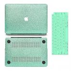 anban MacBook Air Simli Koruyucu Kılıf (Retina 13.3 inç)-Green