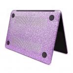 anban MacBook Air Simli Koruyucu Kılıf (Retina 13.3 inç)-Purple