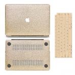anban MacBook Air Simli Koruyucu Kılıf (Retina 13.3 inç)-Gold