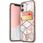 i-Blason Apple iPhone 12 Mini Cosmo Serisi Cüzdan Kılıf