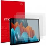 iCarez Galaxy Tab S7 Plus Mat Ekran Koruyucu Film (2 Adet)