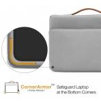 Tomtoc Laptop El Çantası (13 / 13.3 inç)-Silver Gray