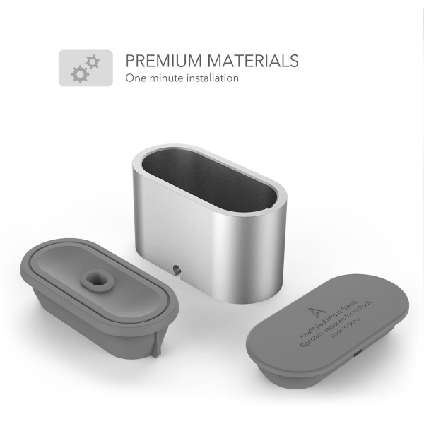 AHASTYLE AirPods Şarj Standı-Silver