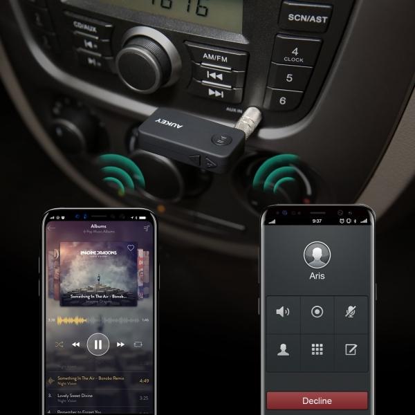 AUKEY BR-C2 Kablosuz Alıcı Ses Adaptörü
