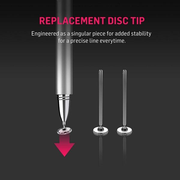 Adonit Jot Pro 4 Fine Point Precision Stylus Kalem-Silver
