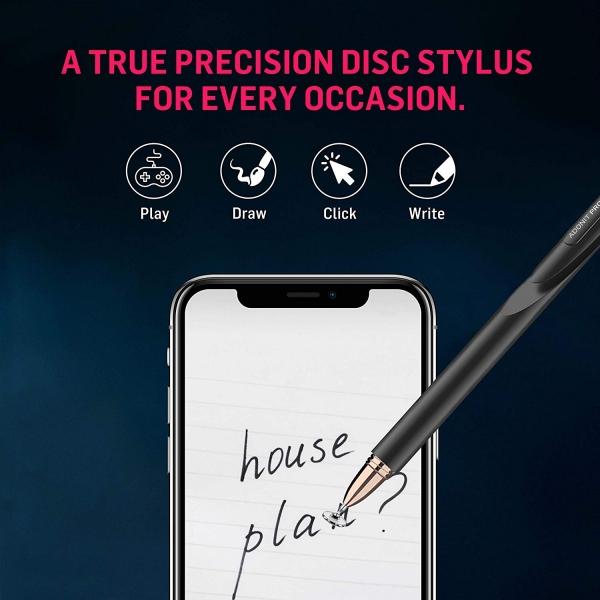 Adonit Jot Pro 4 Fine Point Precision Stylus Kalem-Black