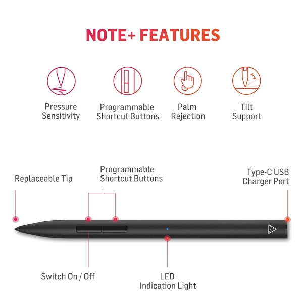Adonit Note Plus Stylus Kalem