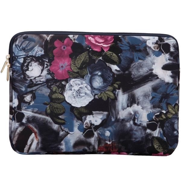 Aestee Kanvas Laptop Çantası (13-13.3 inç)-Vintage Flower