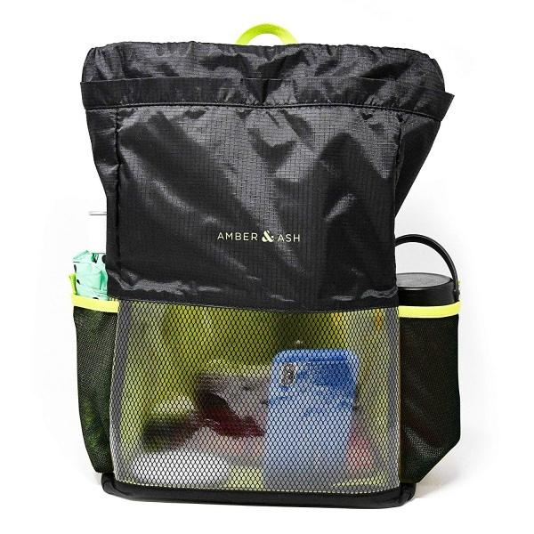 Amber And Ash Hafif Laptop Sırt Çantası (13.3 inç)-Black Electric Pear