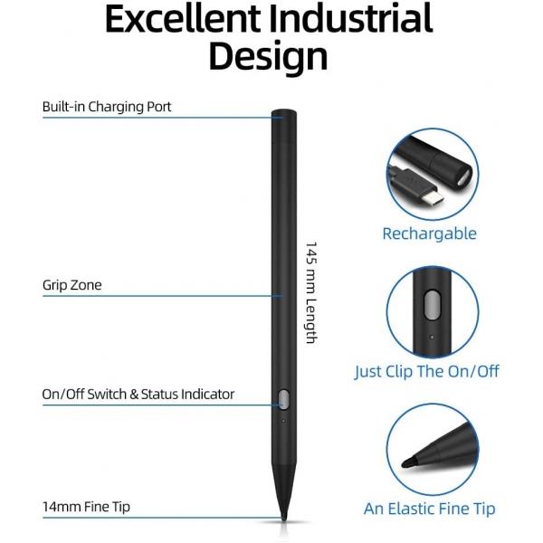 Awinner Fine Point Precision Active Stylus Kalem (Yeni Nesil)