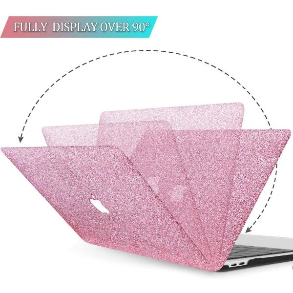 BELK MacBook Air Crystal Hard Kılıf (13 inç) (M1)-Rose Pink
