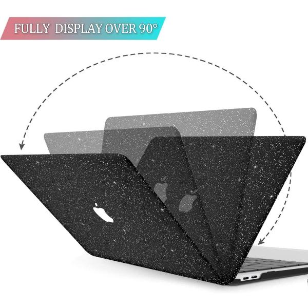 BELK MacBook Air Crystal Hard Kılıf (13 inç) (M1)-Black