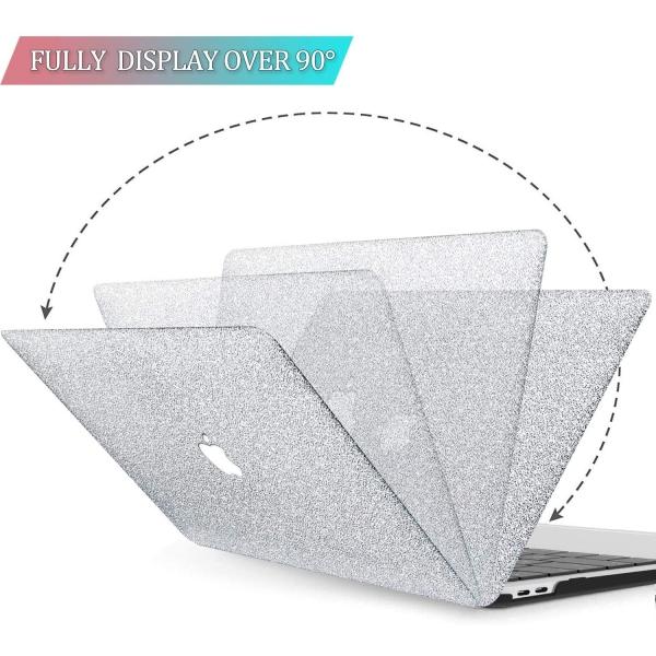 BELK MacBook Air Crystal Hard Kılıf (13 inç) (M1)-Silver