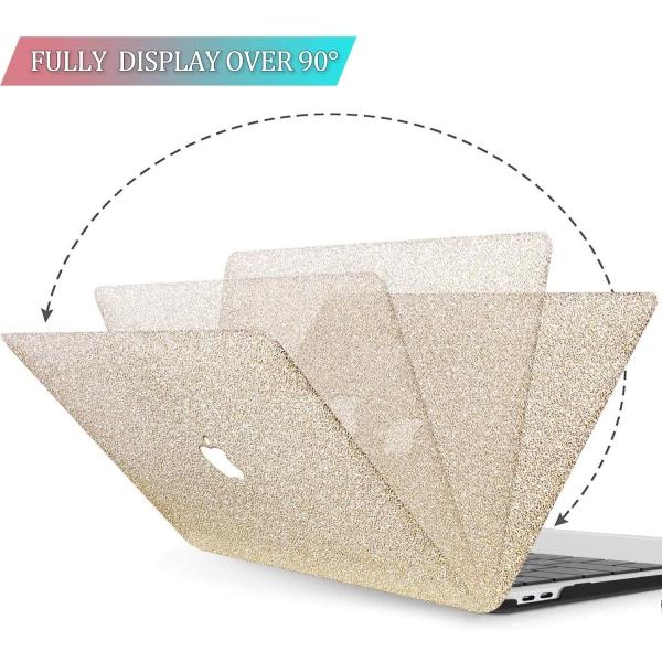 BELK MacBook Air Crystal Hard Kılıf (13 inç) (M1)-Gold
