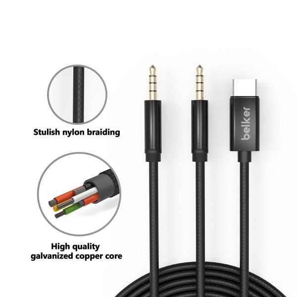 Belker USB C Aux Adaptör