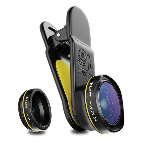 Black Eye Combo G4 (Wide / Macro) Lens Seti