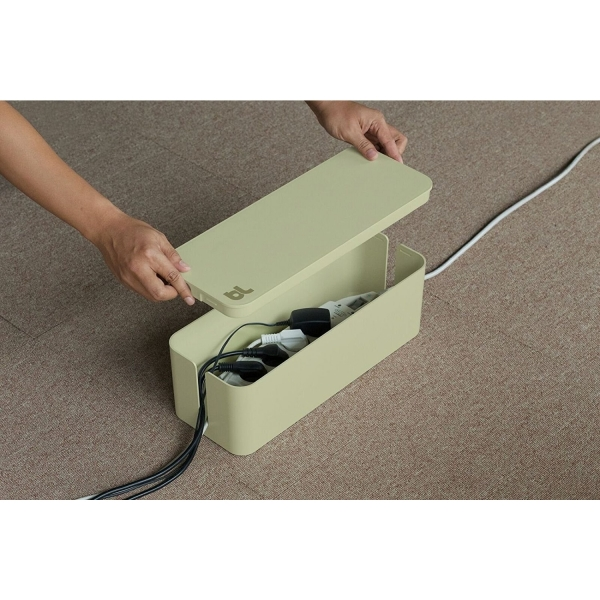 Bluelounge Kablo Kutusu-Beige