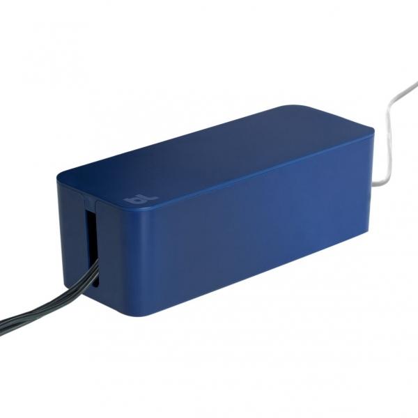 Bluelounge Kablo Kutusu-Bleu nuit