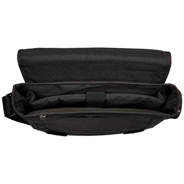 CaseCrown MacBook Kanvas Omuz Çantası (15 inç)-Black