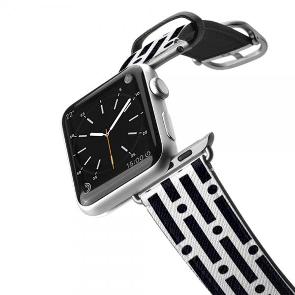 Casetify Apple Watch Kayış (42mm)-Modern Lines