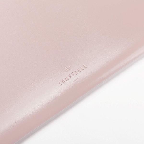 Comfyable MacBook Pro/Air Deri Zarf Laptop Çantası (13.3 inç)-Pink
