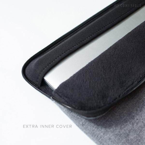 Comfyable MacBook Pro Laptop Sleeve Çanta (15 inç)-Dark Gray