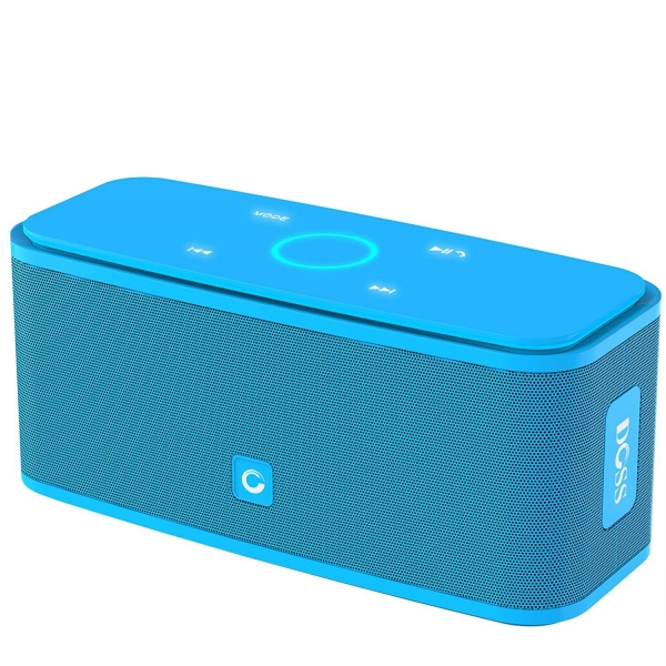 DOSS Touch SoundBox Bluetooth Hoparlör-Blue