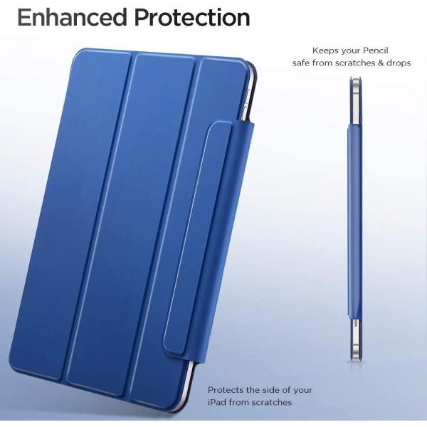 ESR iPad Pro Rebound Manyetik Akıllı Kılıf (12.9 inç)(4. Nesil)-Blue