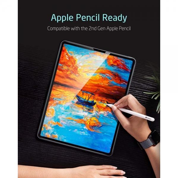 ESR iPad Pro Temperli Cam Ekran Koruyucu (11 inç)(2. Nesil)(2 Adet)