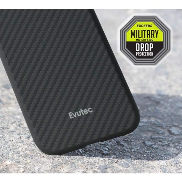 Evutec Apple iPhone 11 Pro Karbon Kılıf  (MIL-STD-810G)