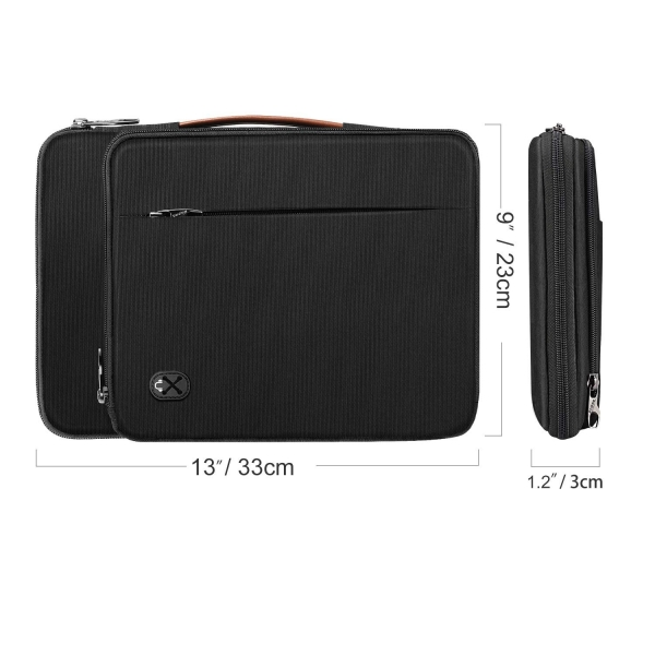 FINPAC Omuz Tablet Çantası (12.9 inç)-Black