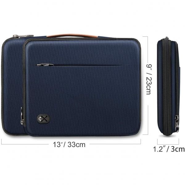 FINPAC Omuz Tablet Çantası (12.9 inç)-Navy