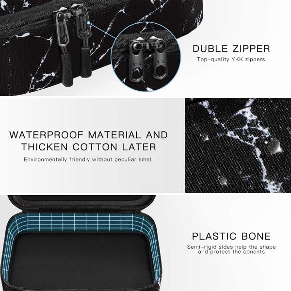 FINPAC Elektronik Aksesuar ve Tablet Çantası (11 inç)-Marble Black