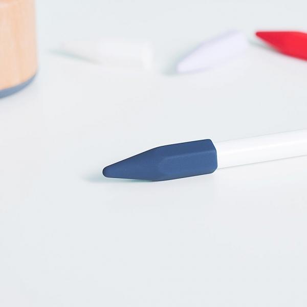 FRTMA Apple Pencil Kapak (4 Adet)-Midnight Blue
