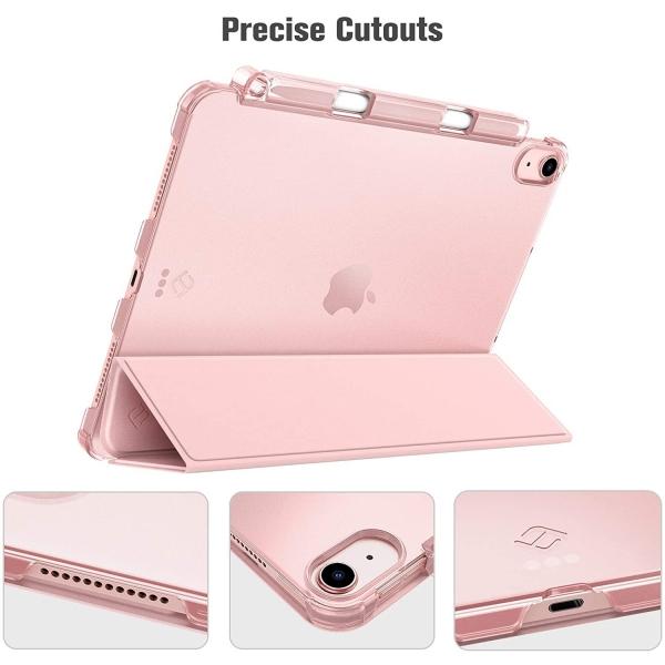 Fintie iPad Air 4 Kalem Bölmeli Kılıf (10.9 inç)-Rose Gold