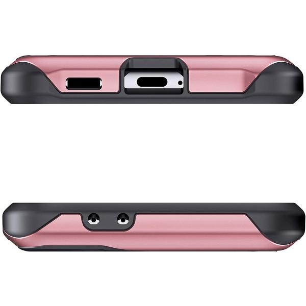 Ghostek Galaxy S21 Ultra Atomic Slim Serisi Kılıf (MIL-STD-810G)-Pink