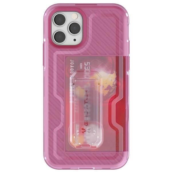 Ghostek iPhone 11 Pro Max Iron Armor 3 Serisi Kılıf (MIL-STD-810G)-Pink