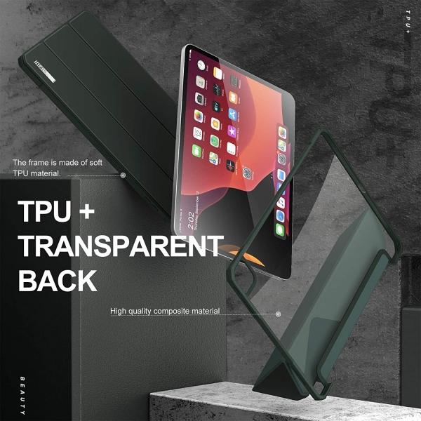 Infiland iPad Pro İnce Kılıf (12.9 inç)(4.Nesil)-Green