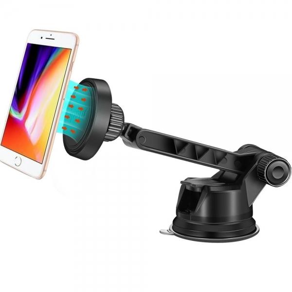 IPOW Manyetik Araç İçi Telefon Tutucu (Windshield/Dashboard)