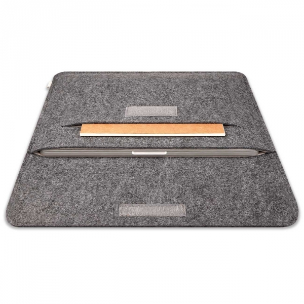 Inateck Macbook Air / Macbook Pro Çanta (15.4 inç)-Dark Gray