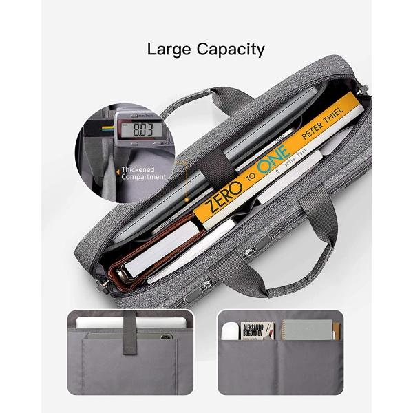 Inateck Laptop Omuz Çantası (15.6 inç)