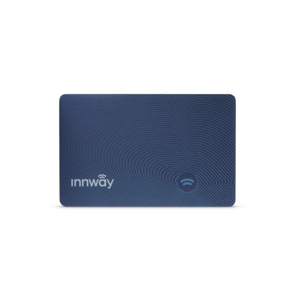 Innway Card İnce Bluetooth İzleme Cihazı-Blue