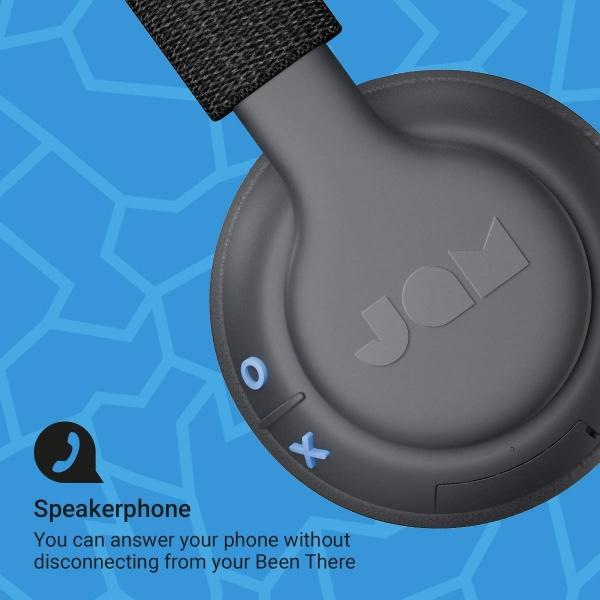 JAM Been There Kulak Üstü Bluetooth Kulaklık-Black